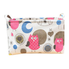 Large Cotton Home Clothing Toys Books Storage Box, Owls Pattern