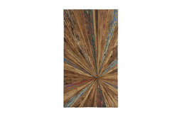 Organic Wood Abstract Wall Decor, Multi-Color