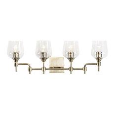 Margaux 4-Light Bath, Antique Brass