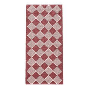 Dialog Woven Vinyl Floor Cloth, Red, 70x250 cm