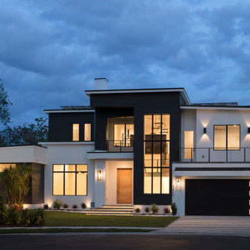 Modern Custom Home in Winter Park Florida
