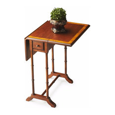 Delicieux Butler Specialty Company   Butler Transitional Drop Leaf Table, Olive Ash  Burl   Side