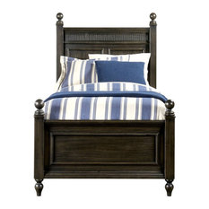 Smiling Hill Panel Bed, Licorice, Twin