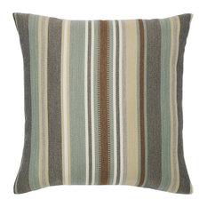 Elaine Smith Spa Multi Stripe Pillow