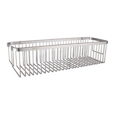 """Ucore 15""""x5""""x 3.5"""" Stainless Steel Wall Mounted Shower Rectangular Basket"""
