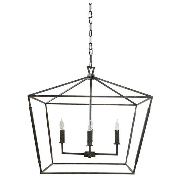 Quatrefoil Shade Mini Chandelier | Mini chandelier, Bathroom