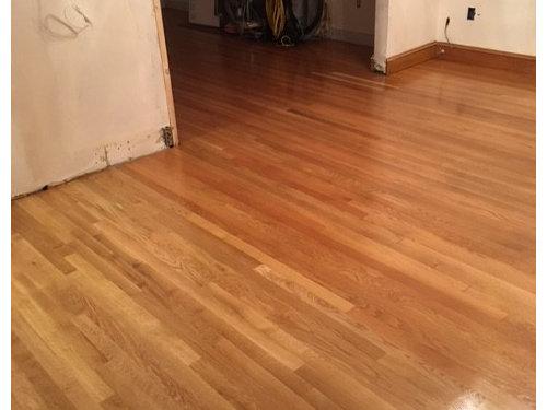 Red White Oak Floor Mismatch