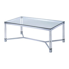 Tomas Contemporary Acrylic Coffee Table Clear