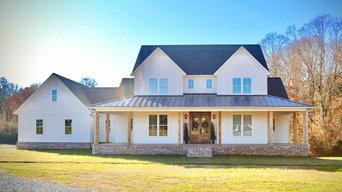 Architectural Designs Farmhouse Plan 4122WM Client-Built in Alabama
