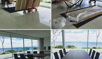 Custom made dinning table delivery and install