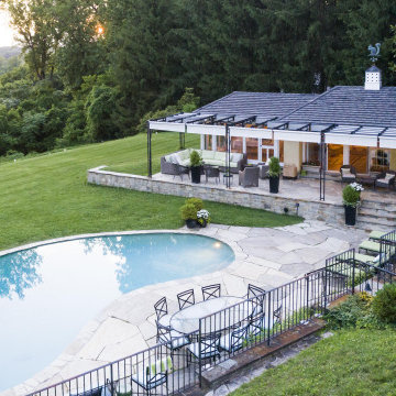 Picturesque Pool House