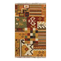 Tribal Kilim Oriental Area Rug 3x5, H2846