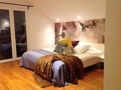 ... Wand Hinterm Bett Streichen By Wir W 252 Nschen Eine Bunte Nacht  Farbige W 228 Nde ...