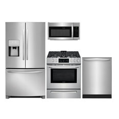 """4 Piece Kitchen Appliance Package with FFHB2750TS 36"""" French Door Refrigerator"""