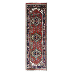 Germili Traditional Bright Pink Pale Pink Area Rug
