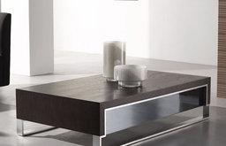 J&M Furniture Modern Coffee Table 888 in Dark Oak