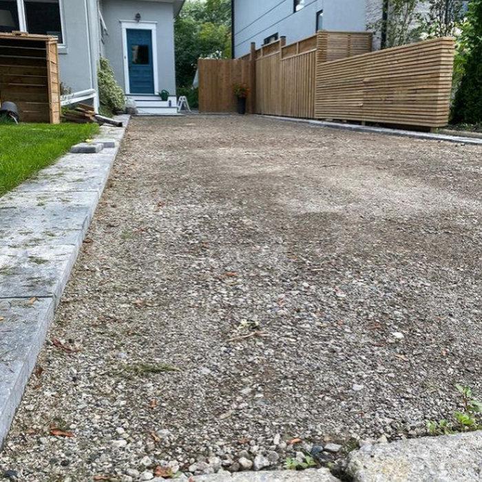 Asphalt Driveway Renovation (Before and After)