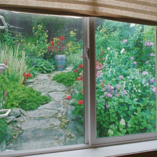 Garden Window Well Liners are easy to install