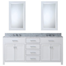 Great Transitional Bathroom Vanities And Sink Consoles by Water Creation