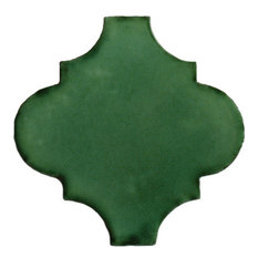4.2x4.2 9 pcs Espanola Green Mexican Tile