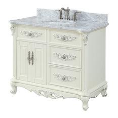 42-inch Verondia Antique Beige Bathroom Vanity