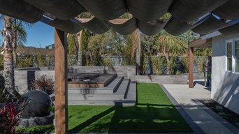 Stylish Backyard for a Modern Family
