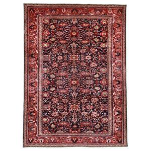 Nanadj Oriental Rug, Hand-Knotted, 377x274 cm