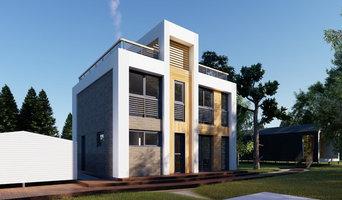 Проект 2-этажного жилого дома в д. Налимиха, Пермского края, S=143,7 кв.м