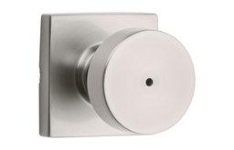 Kwikset 730PSKSQT Pismo Privacy Door Knob Set - Nickel