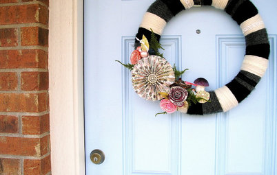 Handmade Holiday: The Modern Wreath