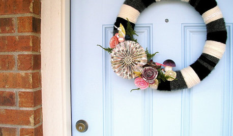 Handmade Holiday: The Modern Wreath