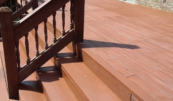 Deck sand and finish