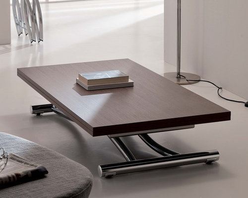 Contemporary transformable furniture coffee console - Transformable coffee table ...