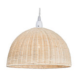 Wicker Dome Ceiling Light Shade