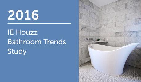 2016 IE Houzz Bathroom Trends Study