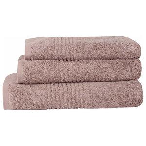 Luxury Heather Soft 3-Piece Hand Bath Towel Bale 100% Egyptian Cotton 550 g/m²