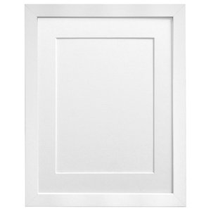 Planet Picture Photo Frame, 50x70 Cm, Image Size A2, White Mount
