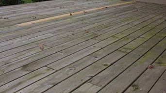 Midlothian Deck Before and After