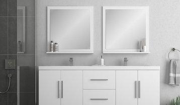 A Classic White Bathroom