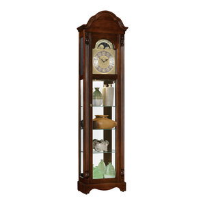 Bowery Hill Grandfather Clock In Black