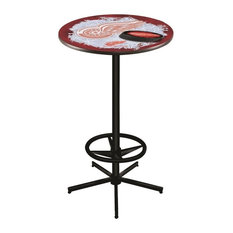 Detroit Red Wings Pub Table 28-inch