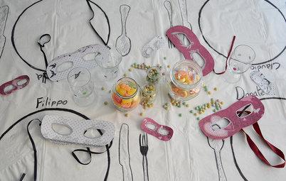 Una Tavola di Carnevale Super Glam. 5 Facili Mini Idee da Copiare