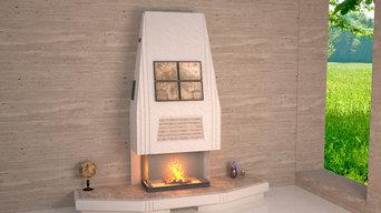 Дизайн проеты индивидуальных каминов