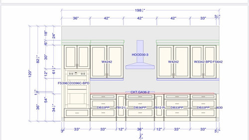 Urgent Need Help With Upper Kitchen Cabinets Width