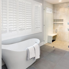 Bathroom Ideas: Moisture Resistant Window Treatments-Polywood Shutters