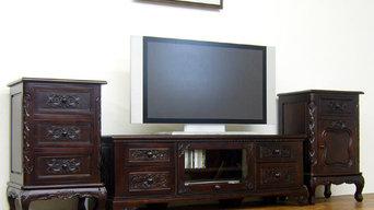 アジアン家具 テレビボード