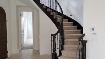 Curved Staircase, San Ramon