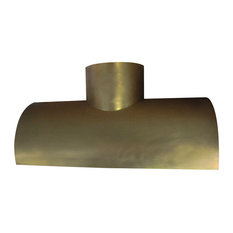 Range Hood #38-Br, Burnished Brass, 30, Wall Mount