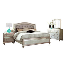 Coaster Fine Furniture   Coaster Bling Game Bedroom Set With Queen Bed    Bedroom Furniture Sets