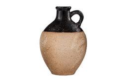 Nate Berkus Stoneware Vase, Natural/Black